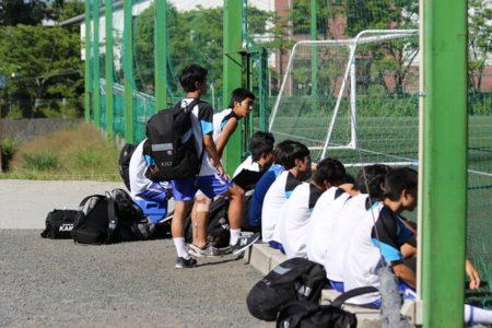KISサッカー部 親善試合(VS初芝)