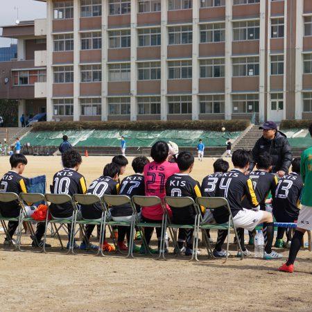 KISサッカー部 高円宮杯U-18(VS大阪青凌高校)