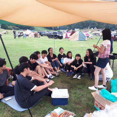 寮生キャンプ