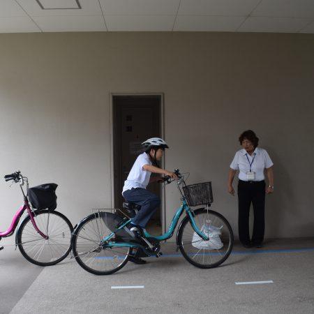 自転車交通安全教育